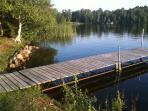 dock/shore line