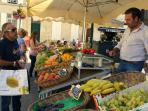 St Jean D'Angley market, every Saturday & Wednesday morning