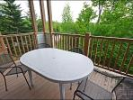 Private Balcony with Furniture and Summer BBQ