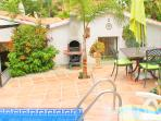 Private pool, garden, terrace and barbecue area