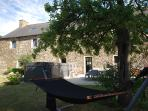 Hammock, Garden, Swim Spa & seating area