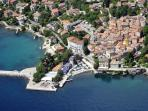 Lovran - old town from the sky :)