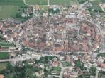 Eguisheim vue du ciel