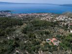 Villa Dalmatia from air