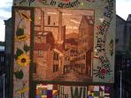 Water Tower Well Dressing June 2015: You can join in the construction of a well dressing