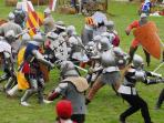 Medieval games of Folleville