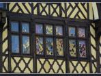 Medieval facade in Amiens