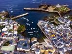 Vista aérea de Tapia