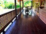 Wooden L-Shape bacony
