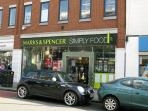A Marks and Spencers in the High Street