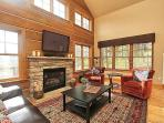 Wonderful great room with vaulted ceilings