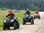 Plenty of ATV roads available