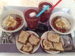 Rohkostfrühstück für 7,50€ pro Person
