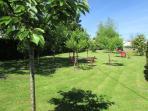 Balade dans le parc du Logis de Chalons