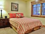 1st Bedroom of Badgerland - Park City. Third bedroom with queen bed