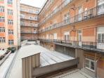 Corridor and patio