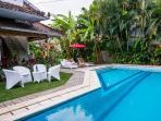Large tropical pool