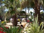 Ibiza wedding venues - ceremony garden
