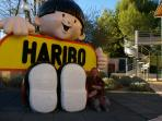 Haribo sweet museum and factory Uzes