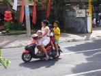 Balinese style transportation