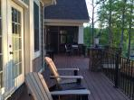 Enjoy the Birds, views and other wildlife from the expansive porch