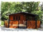Blelham Tarn luxury log cabin sleeps 4 non-smokers