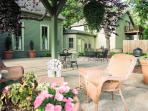 Large Patio accommodating events up to 100 guest