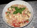 Su richiesta: Panzanella, piatto estivo semplice e fresco, tipico deila tradizione toscana