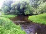Walk across the creek