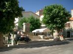 place du village de sainte lucie de tallano