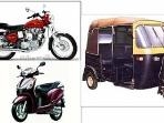 two wheeler rickshaw and taxi is available for site seeing