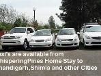 Taxi Service is available Round the clock from Whispering Pines Home Stay