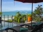 Spectacular far reaching views of the Gulf of Thailand