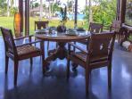 Dining, villa Yoga Bale