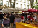 Aix en Provence Craft market