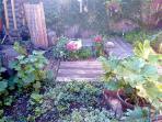 Fully fenced garden