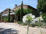 Bastide 1 garden and house