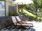 Deck Area and Sun Loungers