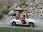 Golf Cart Available with Proof of Insurance
