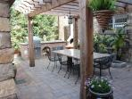 Outdoor patio w/ BBQ