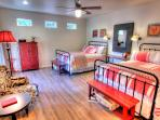Casita Two features 2 queen size beds