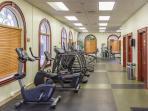 Gym at the resort
