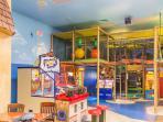 Kids Play Area near Banana Jack's Restaurant