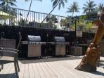 Complex BBQ Area