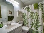 Bathroom has been beautifully updated
