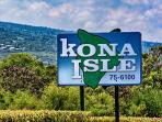 Welcome to the Kona Isle!