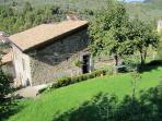 L'Appartamento Azzurro, the original residence of il Poggiolo, an 800 yr. old farm...