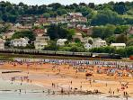 Goodrington beach, a fantastic sandy beach with many family attractions, is nearby.