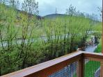 View from the private deck in Town Pointe Treasure - Park City