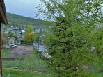 View from the private deck facing Park City Resort in Town Pointe Treasure - Park City
